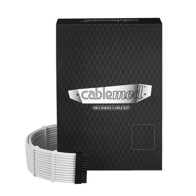 Cablemod C-Series PRO ModMesh Cable Kit for Corsair RMi / RMx / RM (Black Label), White - Wit