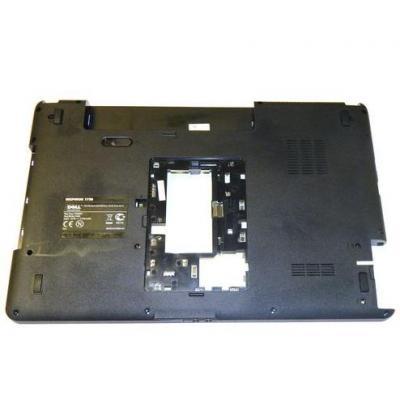 Dell notebook reserve-onderdeel: Bottom Base Case, Black - Zwart