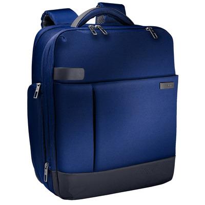 "Leitz Complete 15,6"" Smart Rugzak voor Laptop, 1.2 kg, Titanium blauw Laptoptas - Zwart, Blauw"