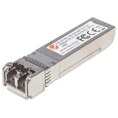 Intellinet 10 Gigabit Fibre SFP+ Optical Transceiver Module, 10GBase-SR (LC) Multi-Mode Port, 300m Netwerk .....