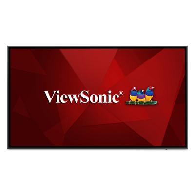 Viewsonic CDE8620-W Public display - Zwart