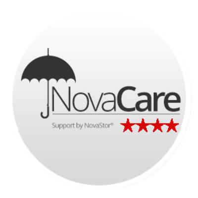 Novastor NovaCare f/ NovaBACKUP Server 1Y RNWL Garantie