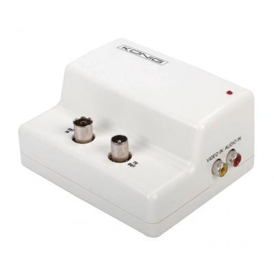 König AV extender: Mono modulator - Wit