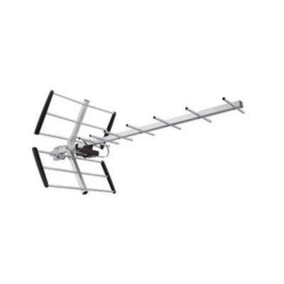 Maximum antenne: Outdoor antenna, 21-60ch, 12dB gain, front/back 18dB - Aluminium