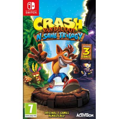 Activision game: Crash Bandicoot N.Sane Trilogy  Nintendo Switch