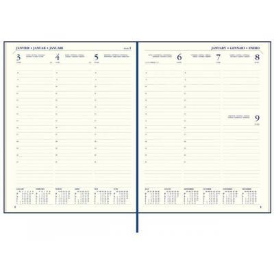 Staples kalander: Agenda SPLS Paris 170x220 7d2p 6t zwart