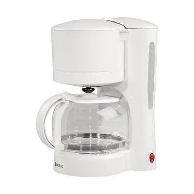 König koffiezetapparaat: 870W, 220-240V, 1m, Wit