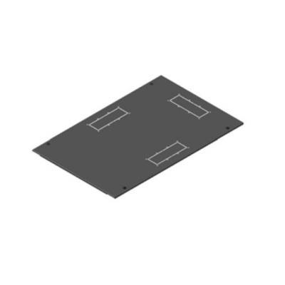 Retex Top cover without ventilation, f / LOGIC2, 800 x 1000 Rack toebehoren - Grijs