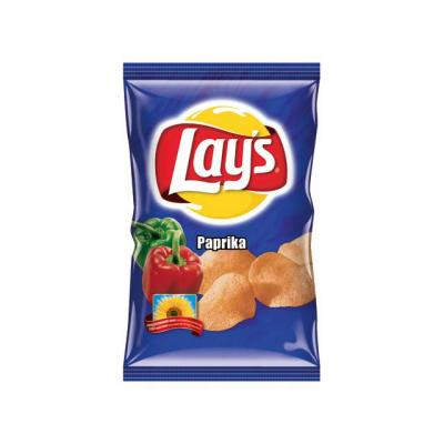 Lay's chip: Chips paprika/doos 8x200gram