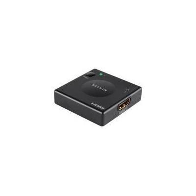 Belkin video switch: Hdmi switch 2-in/1-out, Black - Zwart