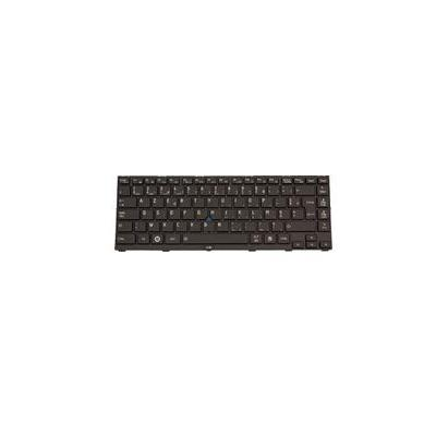 Toshiba Keyboard (UK) Notebook reserve-onderdeel - Zwart