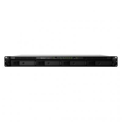 Synology NAS: RackStation RackStation RS816, Marvell Armada 385 1.8 GHz, 1 GB DDR3, 4x SATA III / SATA II HDD, 2x USB .....