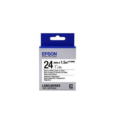 Epson LK-6WB2 Labelprinter tape