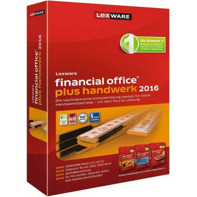Lexware financiele analyse-software: Financial Office Plus Handwerk 2016