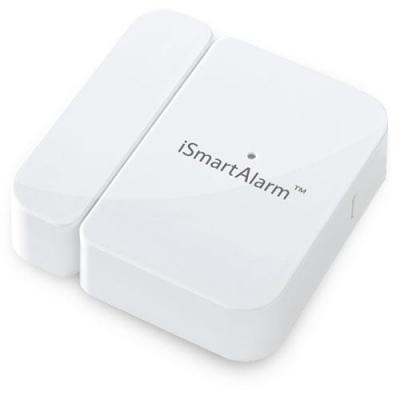 Ismartalarm : Contact Sensor, 868.3MHz, 100m, 1x 3V (CR2032), White, EU - Wit