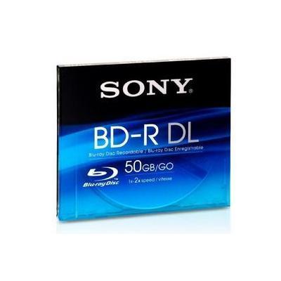 Sony BD: 50GB BD-R DL 2x