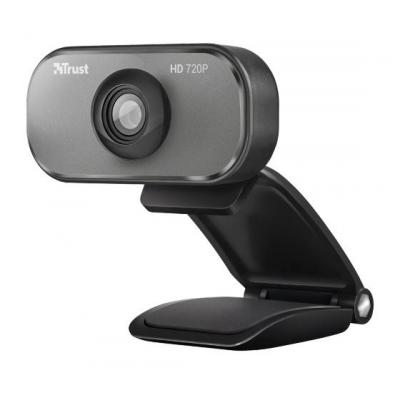 Trust webcam: Viveo HD 720p Webcam - Grijs