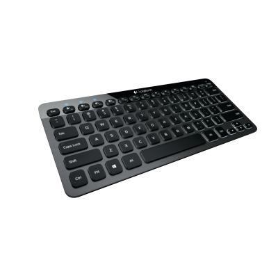 Logitech mobile device keyboard: Bluetooth Illuminated Keyboard K810 - Aluminium, QWERTY