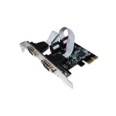 Longshine 2-port Serial PCIe Card Interfaceadapter