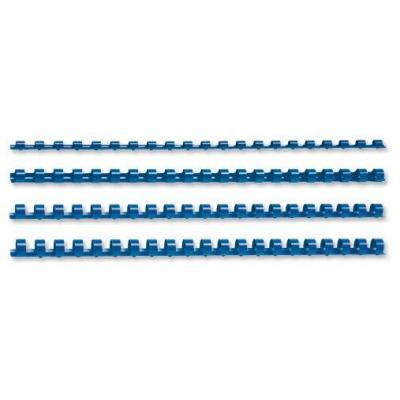 5star inbinder: Binding Combs Plastic 21 Ring, 95 Sheets, A4, 12mm, Blue, Pack of 100 - Blauw