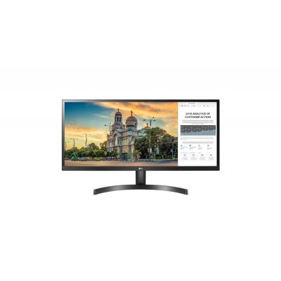 "LG UltraWide 34"" FHD IPS Monitor - Zwart"