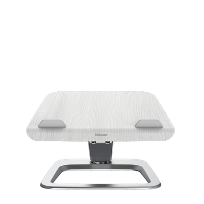 """Fellowes 19"""", 4.5kg Capacity, 342x396x406mm, 2.9kg, White Notebooksteun - Wit"""