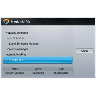 Samsung remote access software: MagicInfo Lite Server