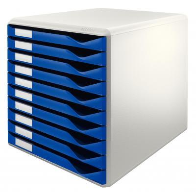 Leitz archiefdoos: 285 x 290 x 355 mm, 4.3 kg - Blauw, Grijs