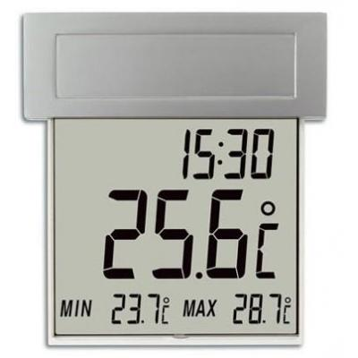 "Tfa thermometer: ""vision solar"" digital window thermometer"