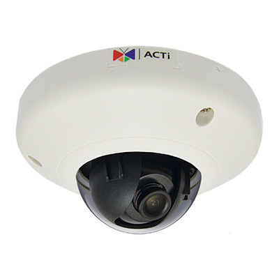 ACTi E91 Beveiligingscamera - Zwart, Wit