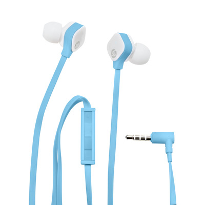 HP H2310 Headset - Blauw
