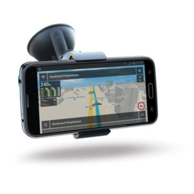 Mobilis Universal Car Holder for Smartphone 3-6'' Houder - Zwart