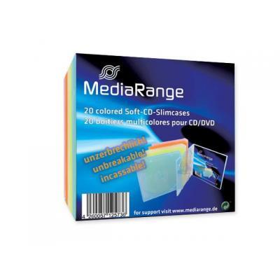 Mediarange : 5,2mm coloured 5x4p retailpack - Multi kleuren
