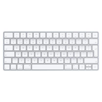 Apple MLA22 - QWERTY Toetsenbord - Zilver, Wit