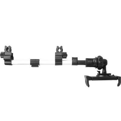 """Macally autostoel accessoire: 5""""/12.7 cm to 10""""/25.4, 203 mm - Zwart, Roestvrijstaal"""
