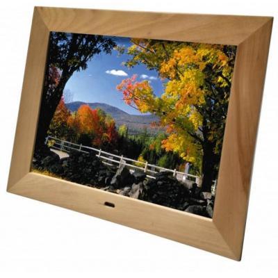 "Braun photo technik fotolijst: BRAUN Digiframe 1587, 15"" (38 cm) LCD, resolution 1024 x 768 pixels (4:3) - Hout"
