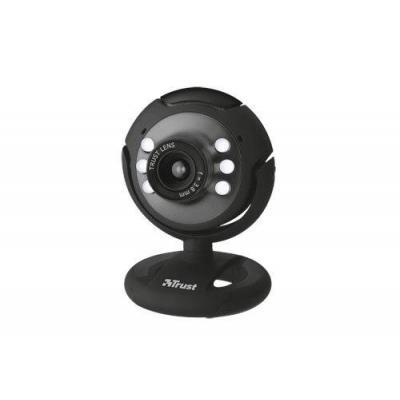 Trust webcam: Spotlight Webcam - Zwart