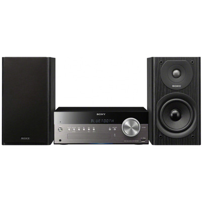 Sony home stereo set: CMT-SBT300W - Zwart