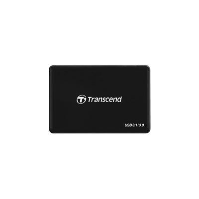 Transcend RDC8 Geheugenkaartlezer - Zwart