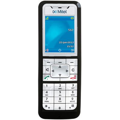 Mitel 612d Dect telefoon - Zwart, Zilver