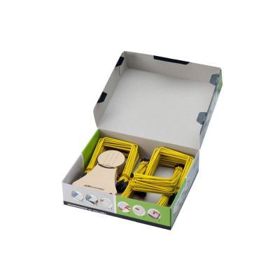 Jalema papierklem: PLI-FIX® Archiefbinder, geel, doosje 100 stuks