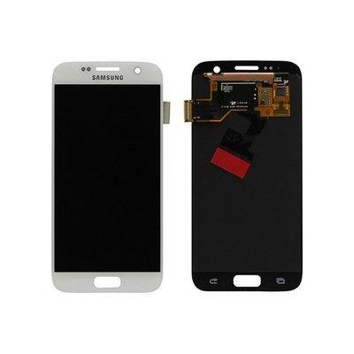 Samsung mobile phone spare part: G930F Galaxy S7 LCD Display Module - Wit