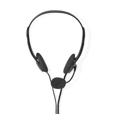 Nedis CHST100BK Headset - Zwart