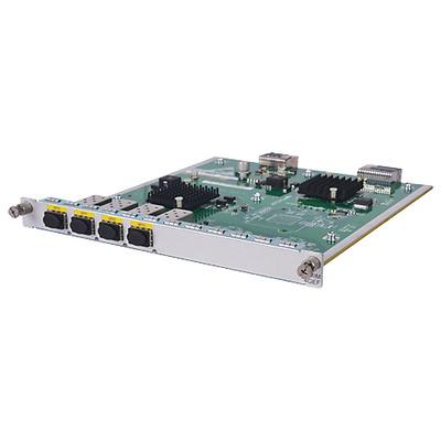 Hewlett Packard Enterprise MSR 4-port 1000BASE-X HMIM Netwerk switch module