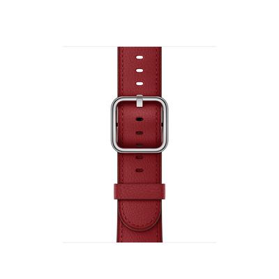 Apple : (PRODUCT)RED bandje, klassieke gesp (38 mm) - Rood