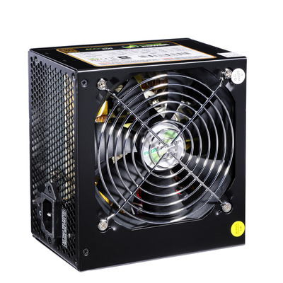 RealPower PSU 550W, ATX 12V v2.3, 85%, 140 mm Power supply unit - Zwart