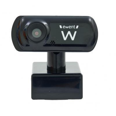 Eminent USB2.0 w MIC 2.0MP SENSOR BLACK Webcam