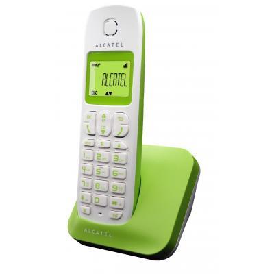 Alcatel dect telefoon: E130 - Wit, Groen
