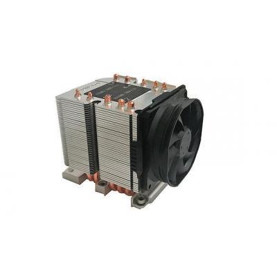 Dynatron 4000 RPM, 42.2 dB, 50 cfm, 80x108x110mm, 600g, Black/Aluminium Hardware koeling - Aluminium, Zwart