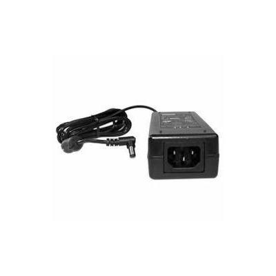 Honeywell Power adapter, 18-60V DC input to 12V DC output, includes cable Netvoeding - Zwart